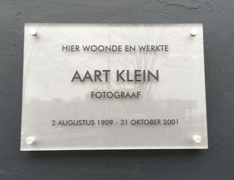 Aart Klein Marker image. Click for full size.