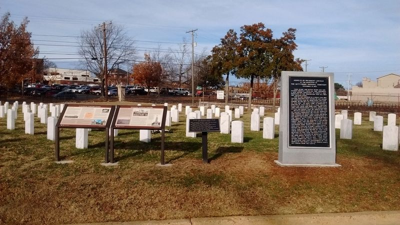 Knoxville National Cemetery Marker image. Click for full size.