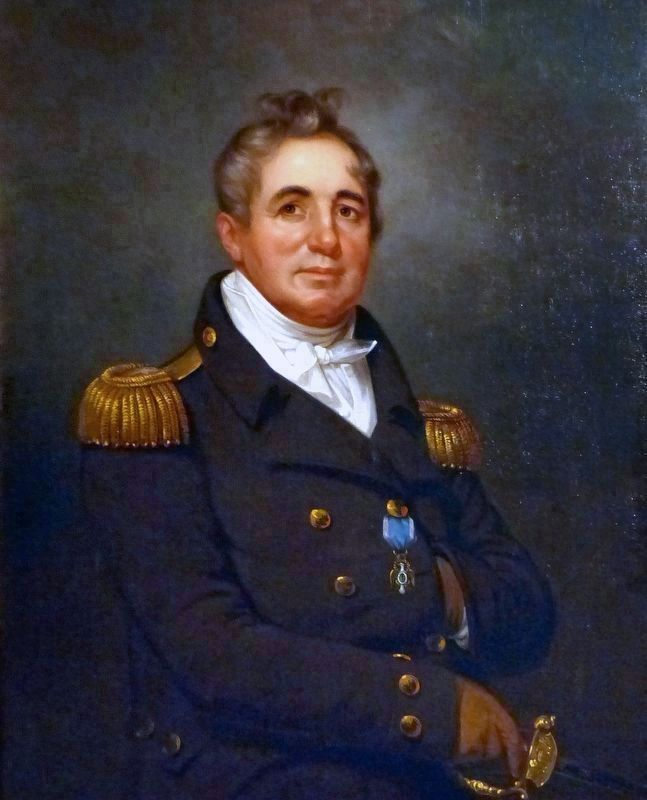Commodore Joshua Barney image. Click for full size.