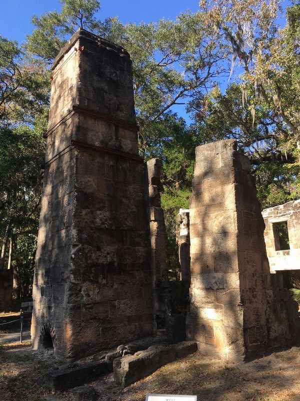 Bulow Sugar Mill Ruins image. Click for full size.