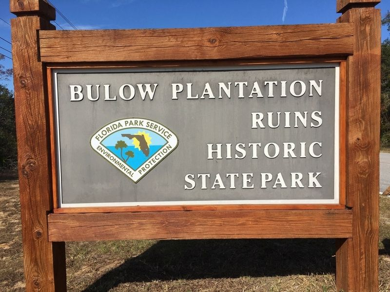 Bulow Plantation Ruins Historic State Park image. Click for full size.