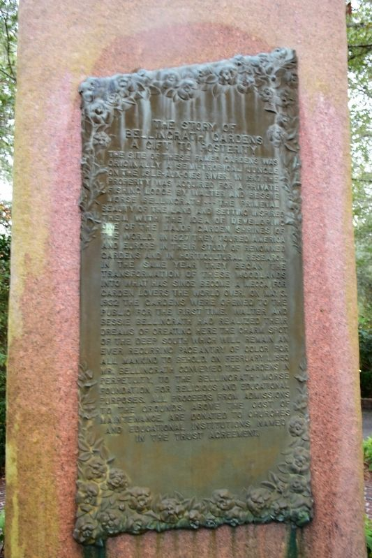 The Story of Bellingrath Gardens Marker image. Click for full size.