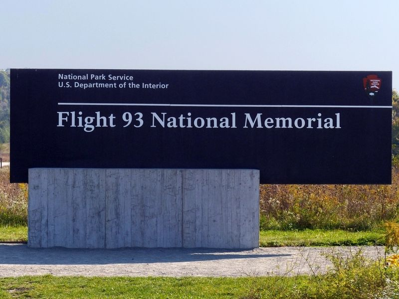 Flight 93 National Memorial image. Click for full size.