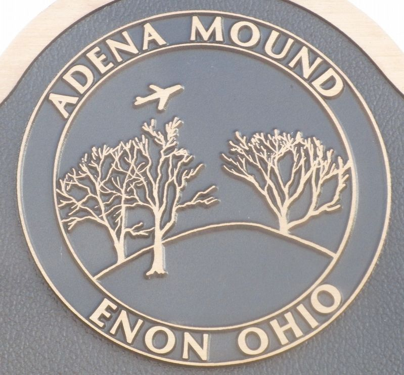 Adena Mound Enon Ohio Marker image. Click for full size.