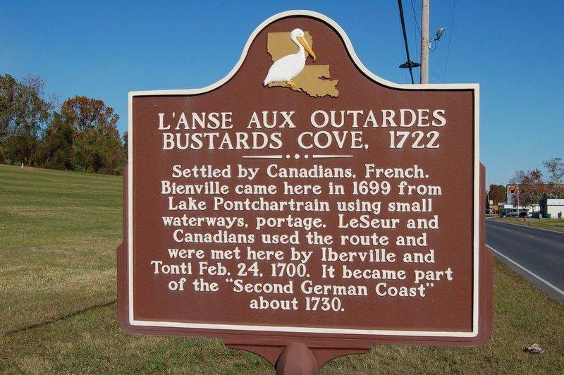 L'Anse Aux Outardes Marker image. Click for full size.