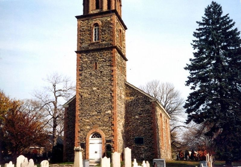 Rear Entrance-St. Paul's Church, Eastchester image. Click for full size.