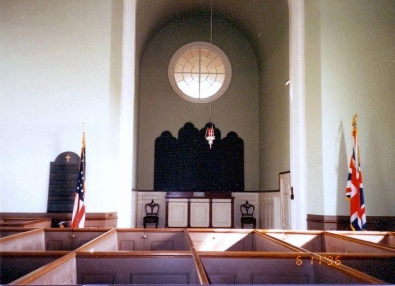 Inside St. Paul's Church, Eastchester image. Click for full size.