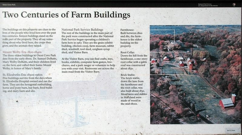 Two Centuries of Farm Buildings Marker image. Click for full size.