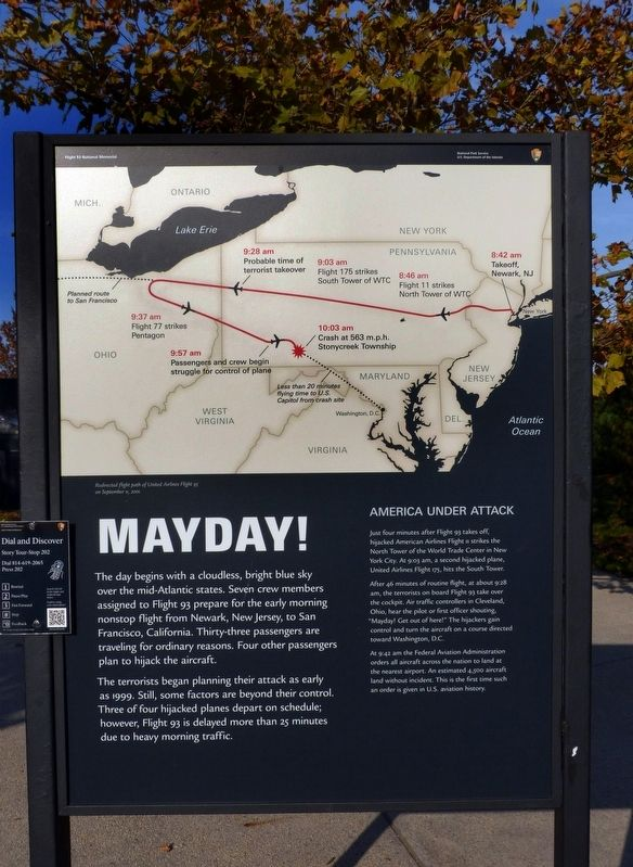 Mayday! Marker image. Click for full size.