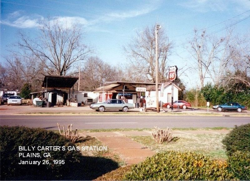 Billy Carter's gas station-Plains GA (Pres. Carter's brother) image. Click for full size.