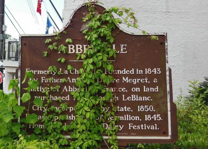 Abbeville Marker image. Click for full size.