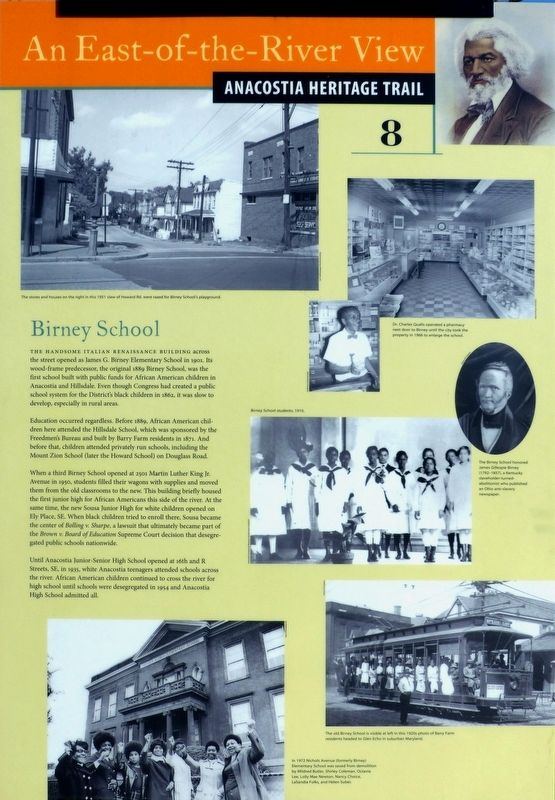 Birney School Marker image. Click for full size.