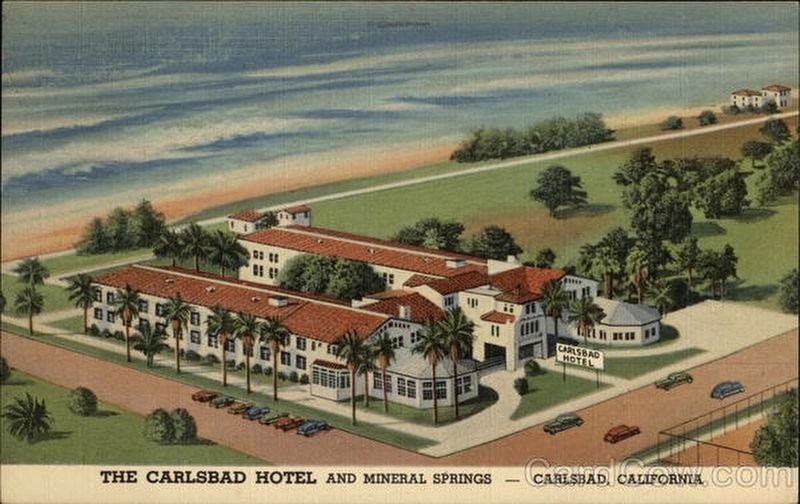 California-Carlsbad Mineral Springs Hotel image. Click for full size.
