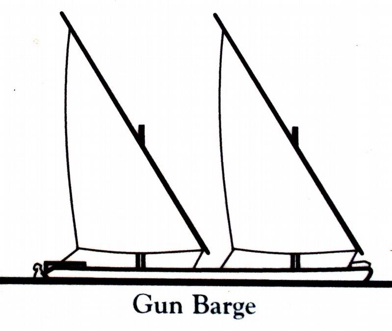 Gun Barge<br>(American) image. Click for full size.