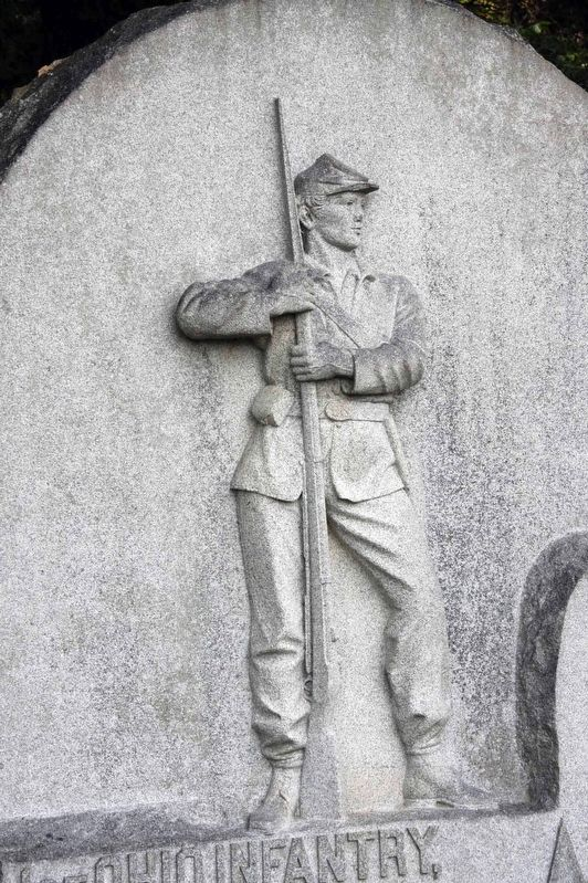 1st Ohio Infantry Monument image. Click for full size.