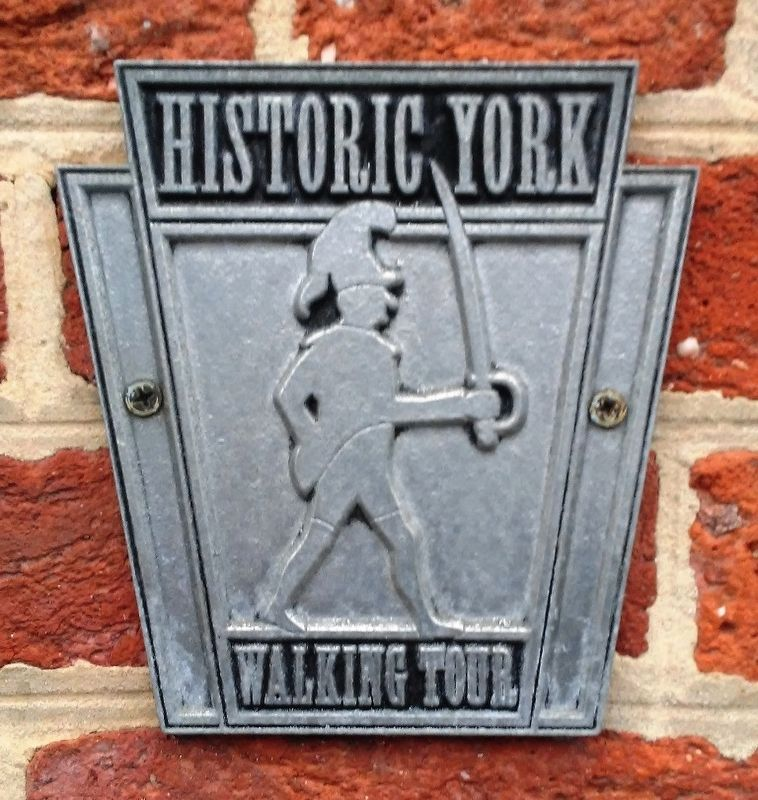 York Walking Tour Marker on William C. Goodridge Home image. Click for full size.