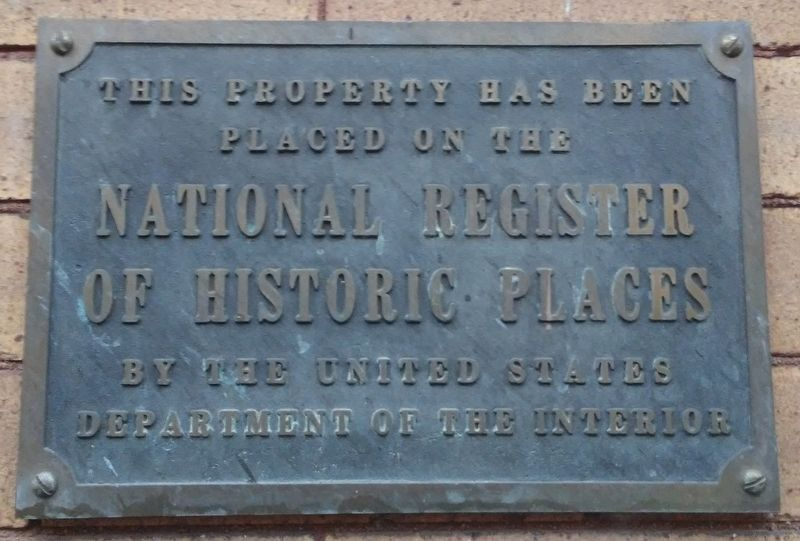 148 East Philadelphia Street NRHP Marker image. Click for full size.
