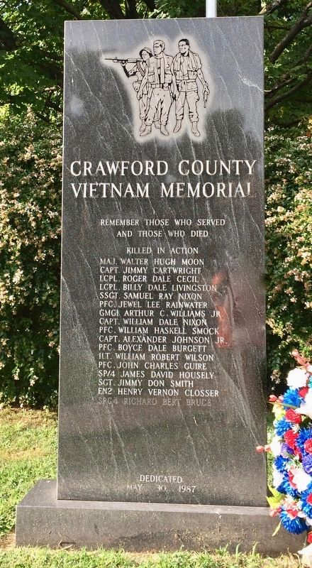 Crawford County Vietnam Memorial image. Click for full size.