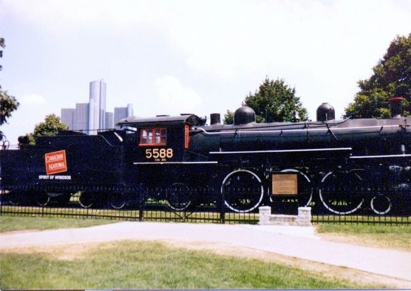 Locomotive 5588-Canadian National-Spirit of Windsor image. Click for full size.