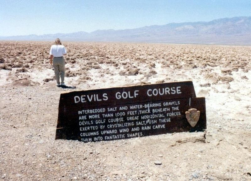 Devils Golf Course Marker image. Click for full size.