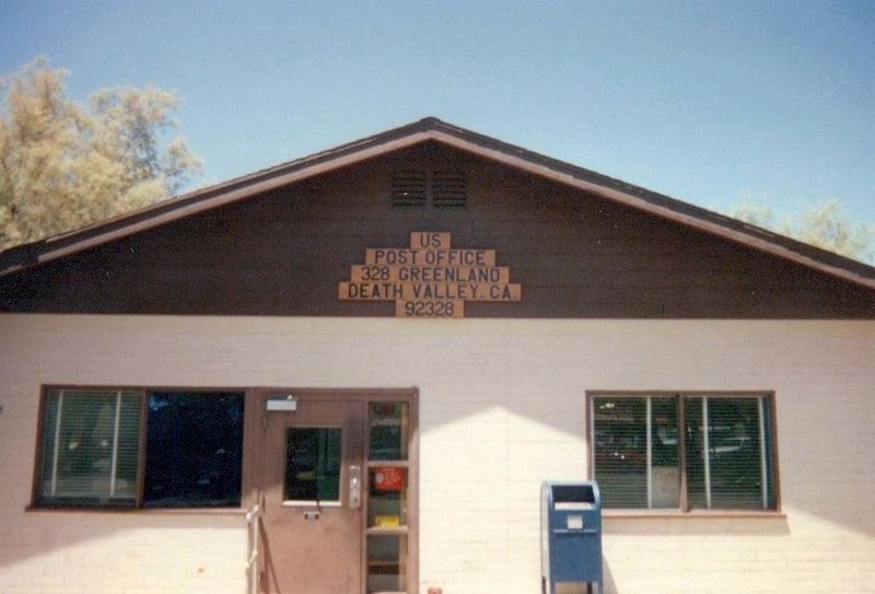 Death Valley Post Office image. Click for full size.