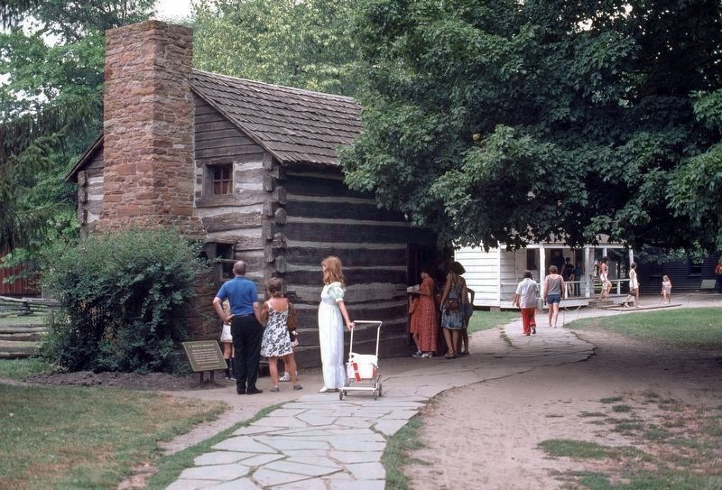 William Holmes McGuffey birthplace home. image. Click for full size.