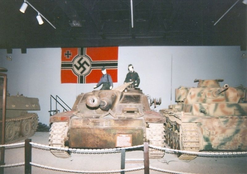Patton Museum-Inside the museum image. Click for full size.