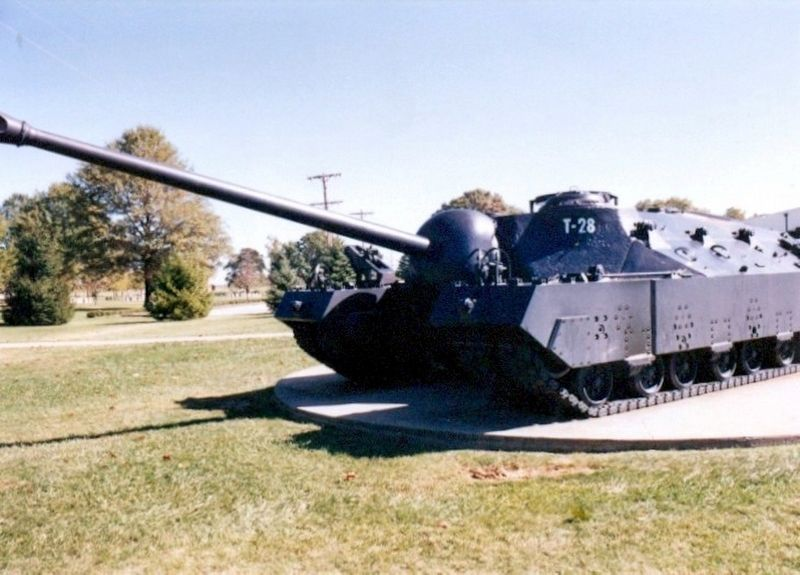 Patton Museum-Tank outside the museum image. Click for full size.