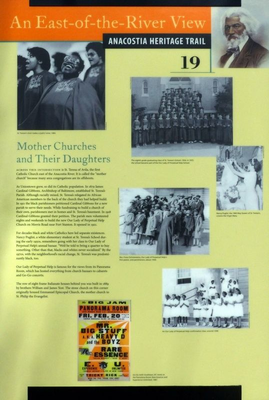 Mother Churches and Their Daughters Marker image. Click for full size.