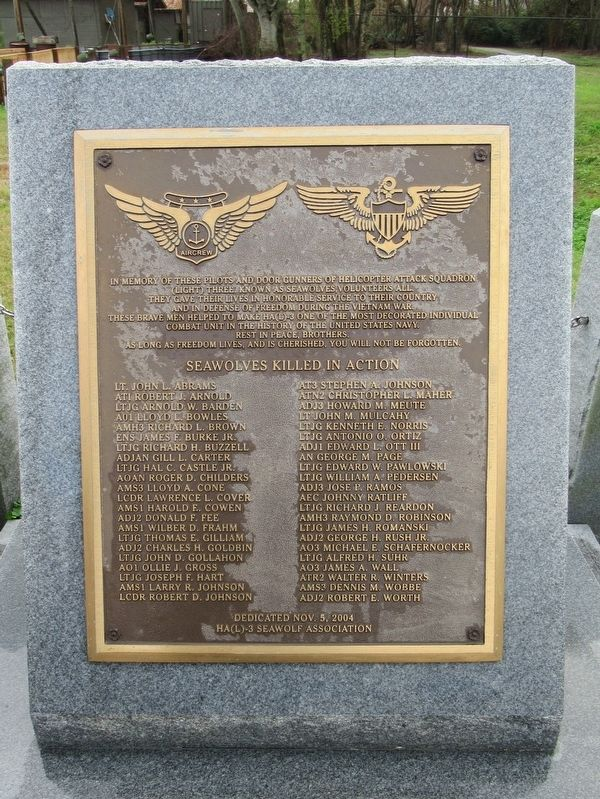 Helicopter Attack Squadron (Light) Three Memorial image. Click for full size.