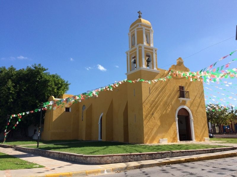 Temple of Guadalupe image. Click for full size.