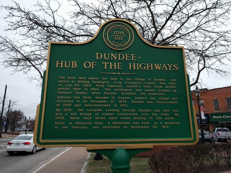 Dundee - Hub of the Highways Marker image. Click for full size.