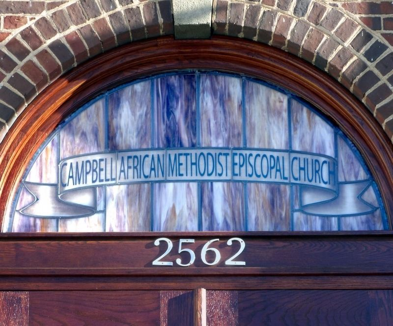 Campbell African Methodist Episcopal Church<br>2562 image. Click for full size.