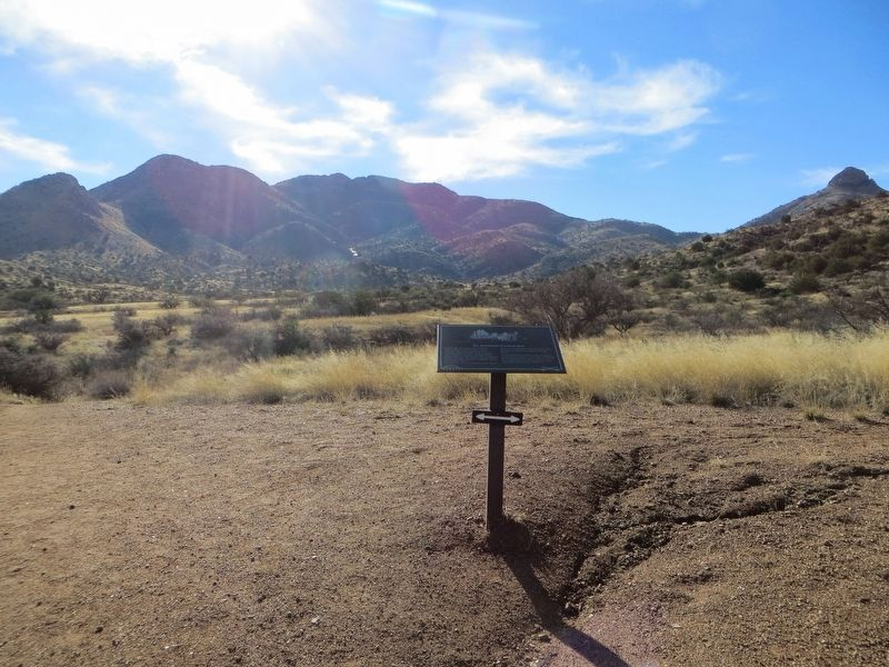 The Butterfield Overland Mail Marker image, Touch for more information