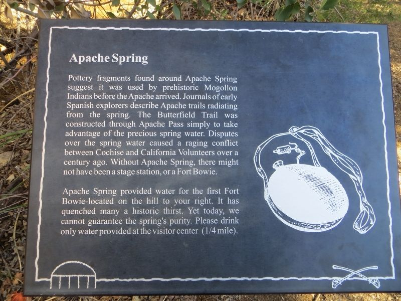 Apache Spring Marker image. Click for full size.