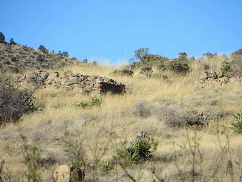 Ruins of the First Fort Bowie image. Click for full size.