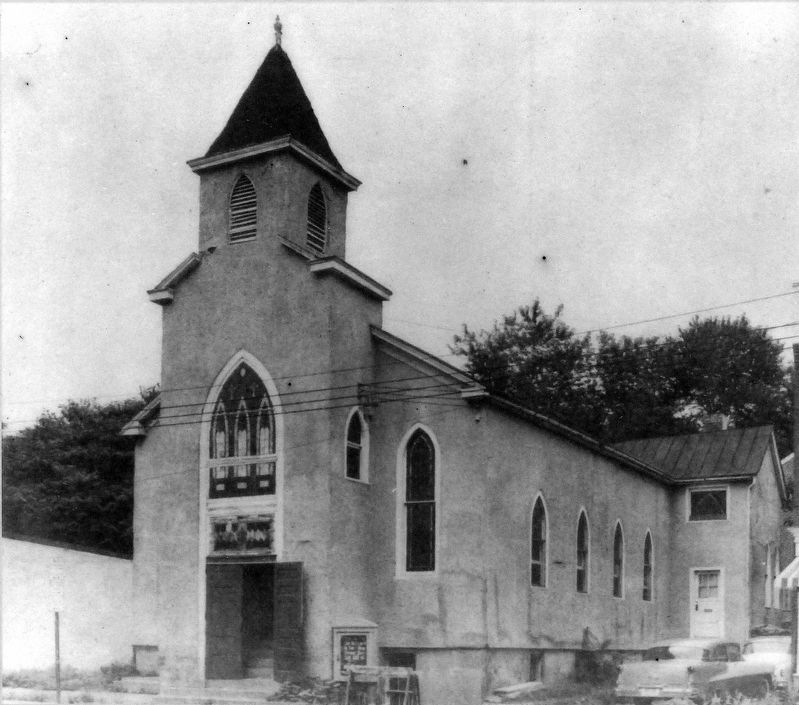 Bethlehem Baptist Church<br>Photographed in 1951 image. Click for full size.