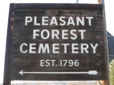 Pleasant Forest Cemetery image. Click for full size.