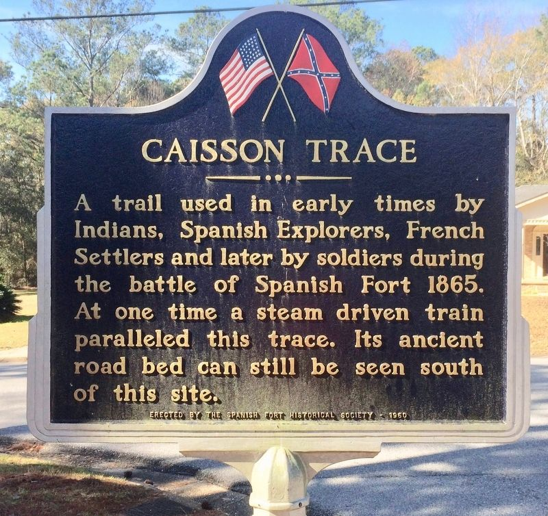 Caisson Trace Marker image. Click for full size.