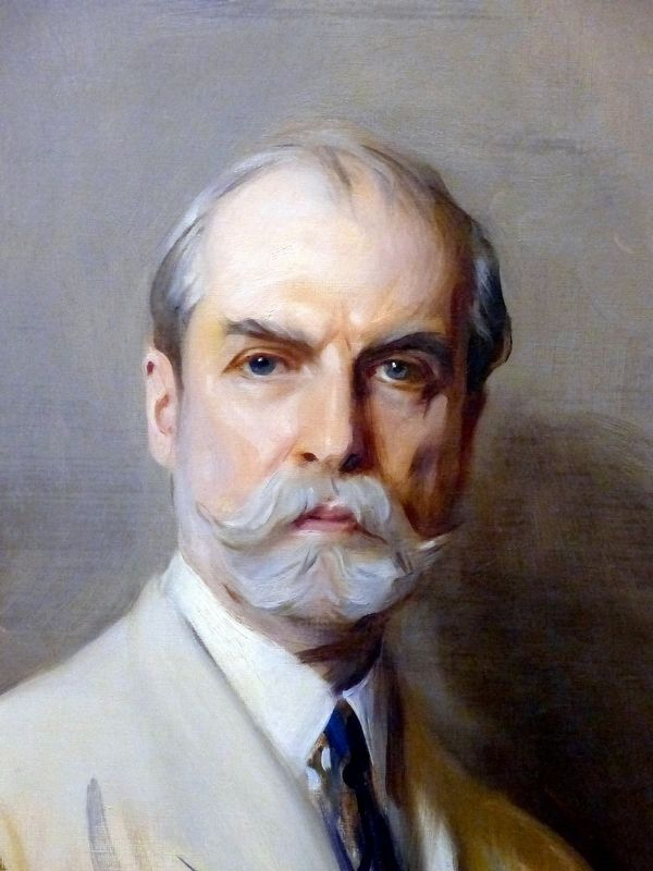 The Hon. Charles Evans Hughes image. Click for full size.