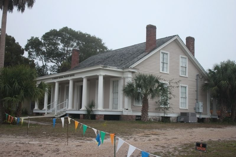 The Hanserd-Fry House (now the St. Vincent Island National Wildlife Refuge Headquarters) image. Click for full size.