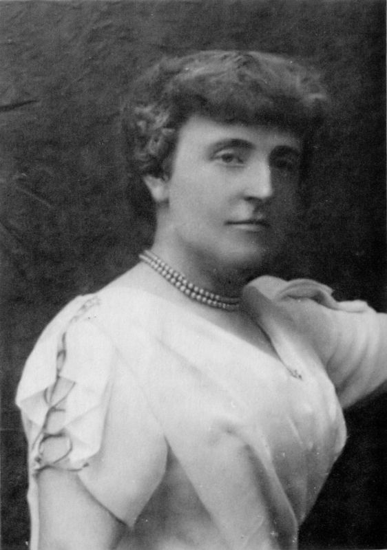 Book's author, Frances Eliza Hodgson Burnett image. Click for full size.