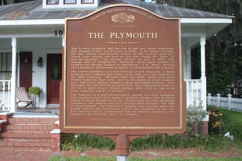 The Plymouth Marker image. Click for full size.