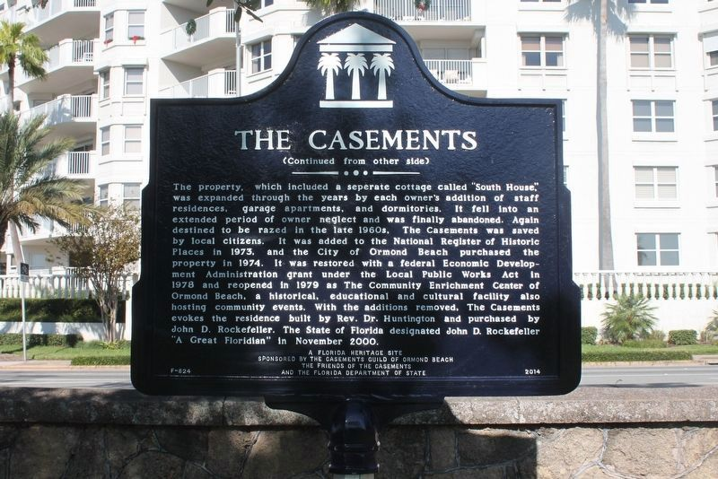 The Casements Marker (side 2) image. Click for full size.