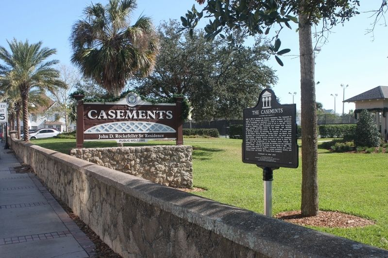 The Casements Marker image. Click for full size.