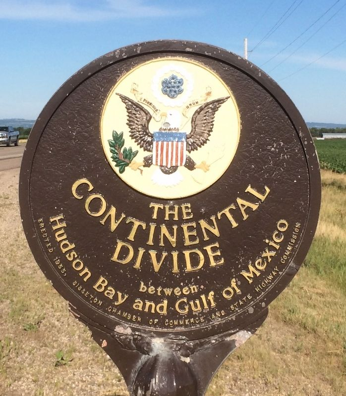 The Continental Divide Marker image. Click for full size.