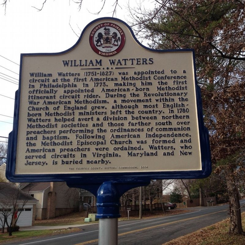 William Watters Marker image. Click for full size.