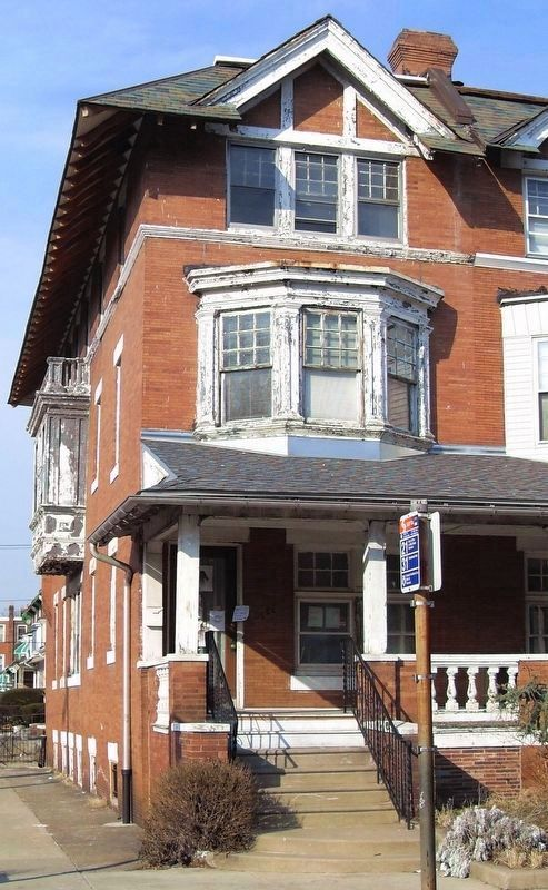 Paul Robeson House, 4951 Walnut Street, Philadelphia PA image. Click for full size.