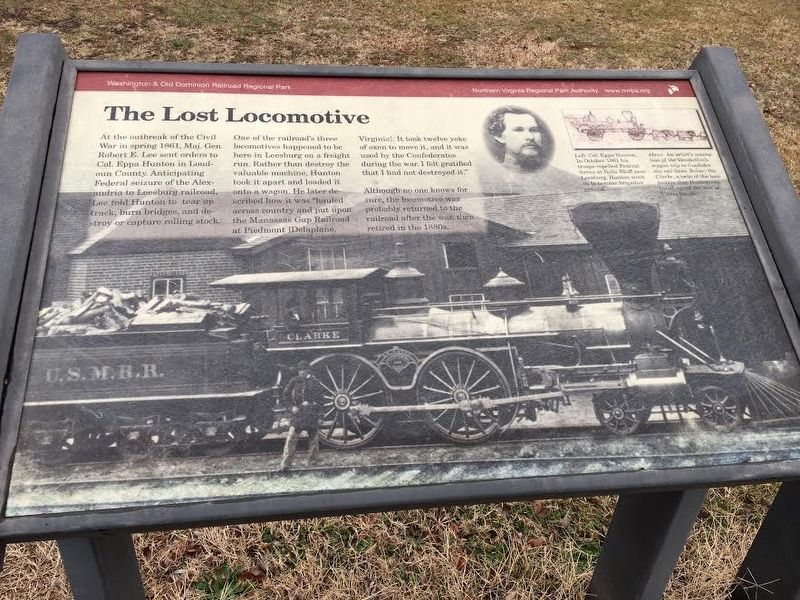 The Lost Locomotive Marker image. Click for full size.