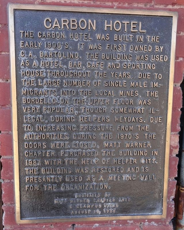 Carbon Hotel Marker image, Touch for more information